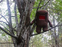 Domo in tree by ChocolateWitch