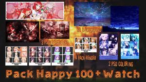 Pack Happy 100+ Watch by Ideria-Chan
