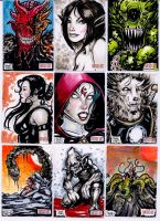 Unstoppable Cards Fantasy sketch cards page 4 by dsilvabarred