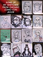 Chicago Con Sketches by grantgoboom