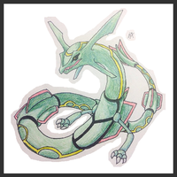 Rayquaza by BetaX64