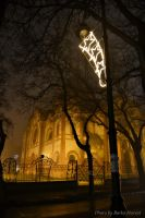 fog and lights by BorkoH
