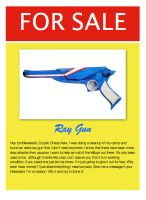 Ray Gun for Sale by mYcHEMrOMANCE69