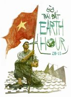 Earth hour Vietnam by phongduong