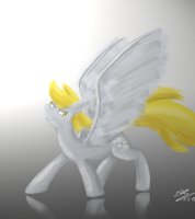 Happy Derpy Day (Speedpaint 1) by RainbowGambler
