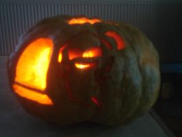 Halloween Carving-Ghost by AlceX