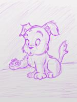 PUPPY SKETCH by GregEales