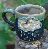 Rain Cloud Mug by ForeverTuesday