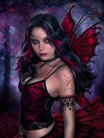Red Fairy by EstherPuche-Art