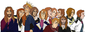 Princes of the Southern Isles (Frozen) by CHAOTIKproductions