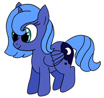 Filly Luna ,sketch Dram-Syral, by kyrospawn