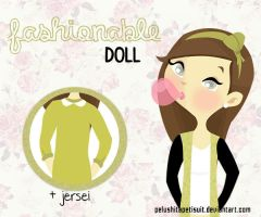 Fashionable Doll by PelushitaPetisuit