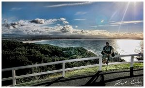 Me Byron Bay Lookout by jaydoncabe