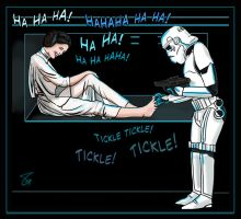 Princess Leia Tickles by Fantasy-Play