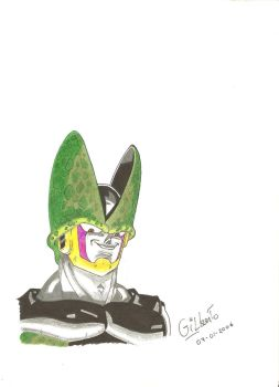 Cell DBZ by Gil-ber-to