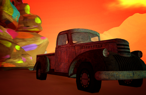 Truck in Tableau by LydiaTremont