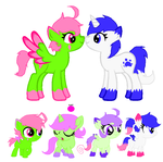 OffPaws breedable foals by VriskaKick-Adopts