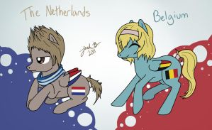 MLHetalia: The Netherlands and Belgium by Cisol