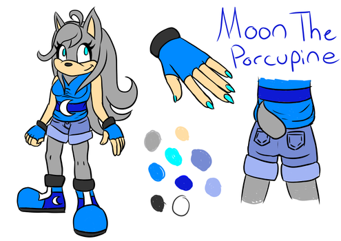 Moon Redesign by BluekittieArtStuffs