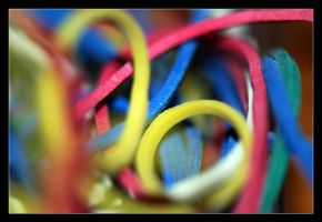 colors of rubberbands by Paradox1234