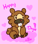 Happy Bidoof-day, Stuff! by HirokoTheHedgehog