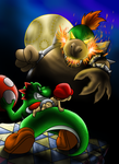:.:+Big Bad Baby Bowser+:.: by FayeleneFyre