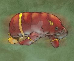 Flash: The Fastest Manatee Alive! by jharris