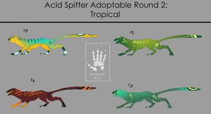 Spitter Adoptables round 2 [CLOSED] by DemonML