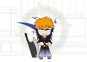 Chibi Chain - Alien Attack - Possessing Ichigo by Dragon-FangX