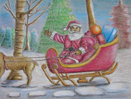 Santa Claus by 123thuraya