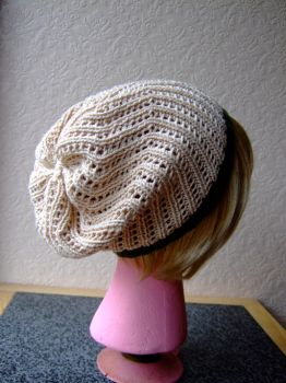 Summer Slouch Hat by knerdy-knits