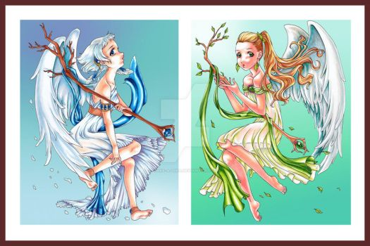 The Two Seasons by Jake-a-Lina