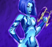 Cortana by Schitz0-Skittl3es