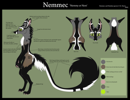 Nemmec ref sheet by Krissyfawx