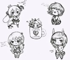 Chibi Doodles 2 by Ask-PrinceBoutique