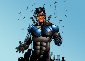Nightwing - Series II by HectorBarrientos