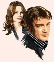 Castle & Beckett by ZacharyFeore
