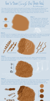 How To Paint Curly Horse Hair by JNFerrigno