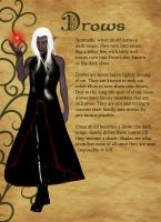Drow Character sheet by phyrephoenix