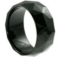 10mm Faceted Tungsten Rings by edwardmelendez