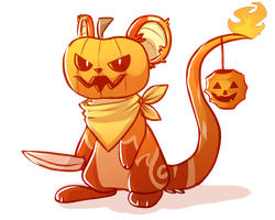 Pumpkin Mouse by wrensw
