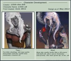 Lilith before and after by Lilith-the-5th