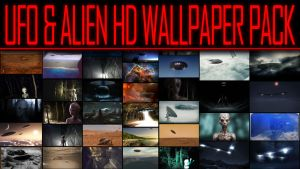 UFO and Alien HD Wall pack by StArL0rd84