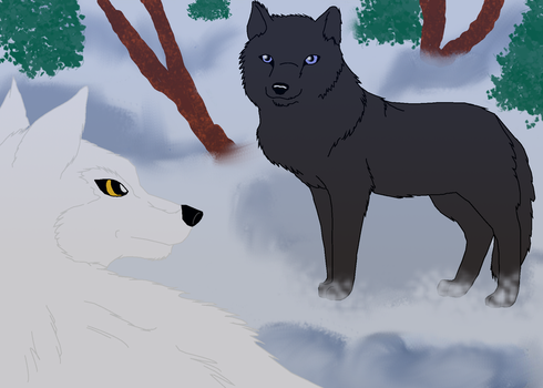 Cian Meets Moira by AshWolf-Forever