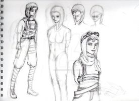 Arica Concept Sketches by Randomman187