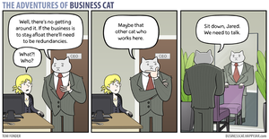 The Adventures of Business Cat - Redundancies by tomfonder
