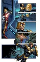 Nova  page 6 colors by Kevin-Sharpe