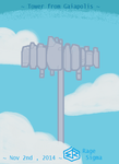 Gaiapolis - Tower (Simplified Drawing) by Rage-DSSViper-Sigma