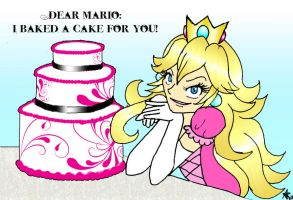 A Cake for Mario by Silver-the-kid