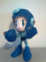 Megaman Papercraft by Tiffyx